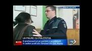 Ohhhh Shnizzap: Cop Smacks Abusive Teacher In The Face!