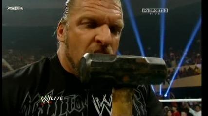 Wwe Triple h Returns Говори за Tlc