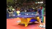 Най - Лудата Игра На Пинг Понг Която Сте Гледали Някога