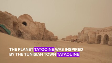 Did you know you could visit Star Wars' Tatooine?