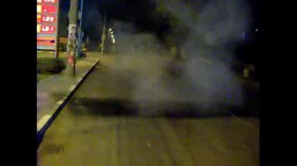 Midnight Lukoil Power Burnout Gsxr