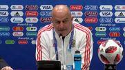 Russia: Russia boss Cherchesov staying ground before Croatia clash