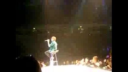 Justin Bieber - Love Me Manchester M.e.n arena 24/11/09