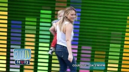 Hilary Duff's On Tinder?