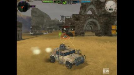 Еxmachina - Hard Truck Apocalypse mod - битки на арената 4