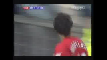 Гол на Нистелрой срещу Челси