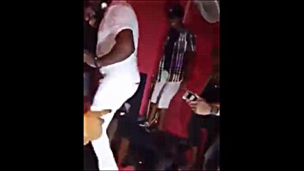 Funny dance in club