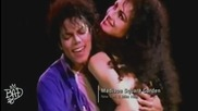 Michael Jackson Kissing Tatiana Thumbtzen - The Way You Make Me Feel ( Bad Tour, New York 1988)