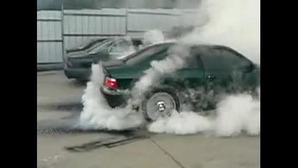Bmw perfect burnout