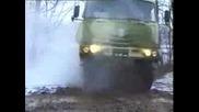 Военен камион-Татра Т - 816 10x10 Тест В Сибир