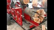 Как да си нарежете и нацепите дървата