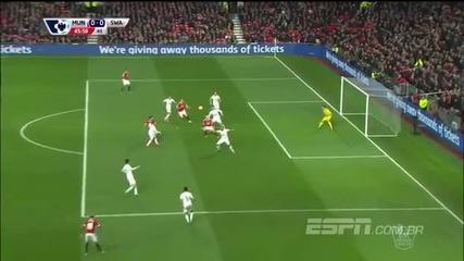 Манчестър Юнайтед 2:1 Суонзи 02.01.2016