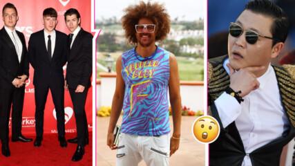 PSY, LMFAO и Arctic Monkeys: Звездите с по един хит, за които сте забравили!