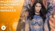 Bella Hadid calls paparazzi 'sick' and 'f***ed up'