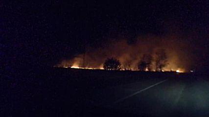 Пожар преди Самоков