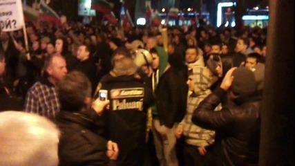 Протест във Варна 19.2.2013 втора част