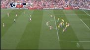 ВИДЕО: Головете в мача Арсенал - Кристъл Палас