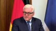 Germany: FM Steinmeier refutes Turkish claims that Germany supports PKK