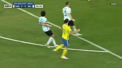 22.06.16 Швеция - Белгия 0:1 * Евро 2016 *
