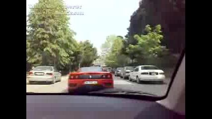 Ferrari 360 Modena v Istanbul