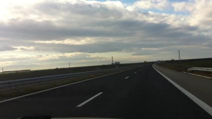 От Бургас до Пловдив по Магистрала Тракия