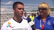 The 2014 Special Olympics Usa Games begin in New Jersey
