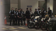 Hong Kong: Thousands surround police headquarters in fresh anti-government protests