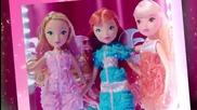 Клуб Уинкс - Магически цветя кукли :)