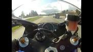 Луд с 300 км /час с Yamaha R1