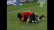 14.06 Испания - Зеландия 5:0 Супер гол на Фернандо Торес ! Купа на Конфедерациите