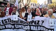 Argentina: Thousands march 11 years after Lopez disappearance with Maldonado the focus