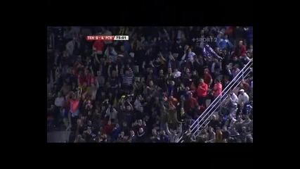 Tenerife - Barcelona 0 4 Messi