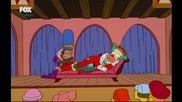 Семейство Симпсън- Средновековни истории - сезон 13, еп. 14 | [tv-rip|hq] [цял епизод, (бг аудио)]