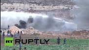 State of Palestine: Tyres burn as Israeli crackdown continues in Ramallah
