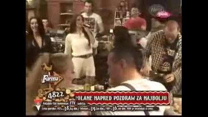 Milica Pavlovic - Farma - RTV Pink - 2013.