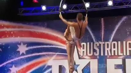 Австралия търси талант - Въздушна Акробатика