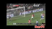 Манчестър Юнайтед 1:0 Кпр Тевез Гол 11.11