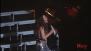 Christian Castro sorprende a Thalia en su concierto en Los angeles