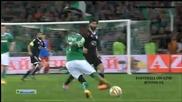 Сент Етиен 1:1 Карабах ( лига европа ) ( 27.11.2014 )