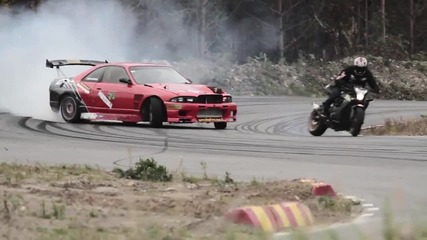 Stuntfreaksteam - Car vs Bike
