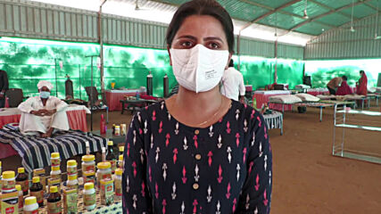 India: COVID isolation centre offers alternative cow by-product treatments to patients in Gujarat