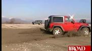 Оф - роуд Тест на Land Rover Defender, Jeep Wrangler, Iveco Massif, Toyota Land Cruiser, Merceses G