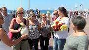 France: Florists cover Nice promenade with hundreds of flowers after Bastille Day attack