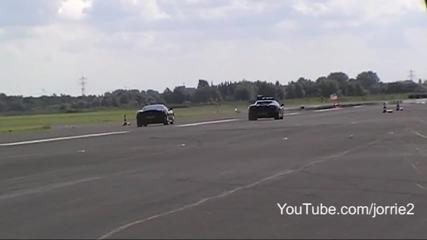 Lp560 vs F430 dragrace