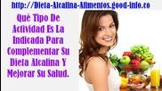 Agua Alcalina, Alimentos Alcalinos Lista, Agua Alcalina Ionizada, Comida Para Adelgazar