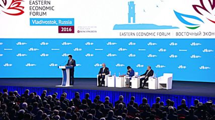 Russia: Putin, Abe, and Park hail Far East's economic prospects at EEF