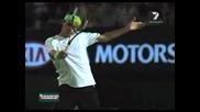 Roger Federer - Slow Motion Backhand Slice