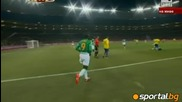 Антифутбол на Кака в края на мача с Кот д`ивоар
