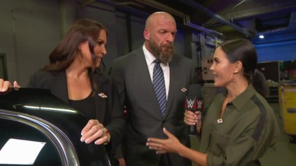 Triple H reminds The Undertaker who he's facing at WWE Super Show-Down: Raw, Sept. 24, 2018