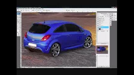 Photoshop Virtual Tuning Opel
